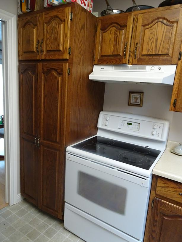 Free Kitchen Cupboards. Last chance.
