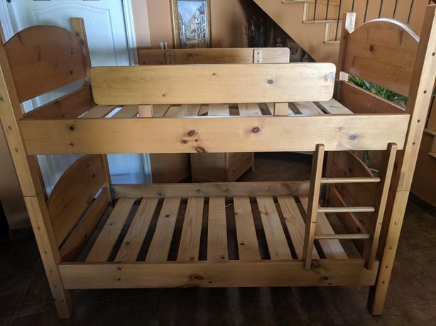 Custom Pine Bunk Bed Frame