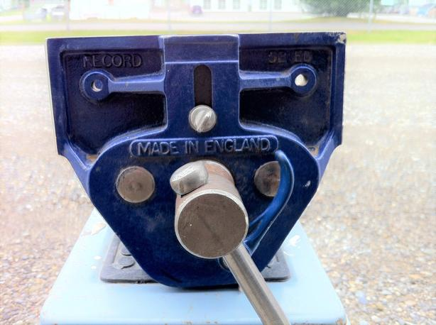 "Record #52 ED 7"" wood working vise"