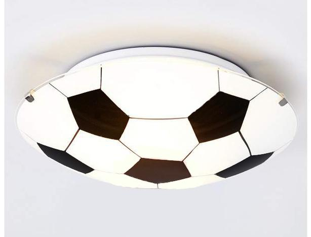 Soccer Ball Ceiling Light Fixture - $80