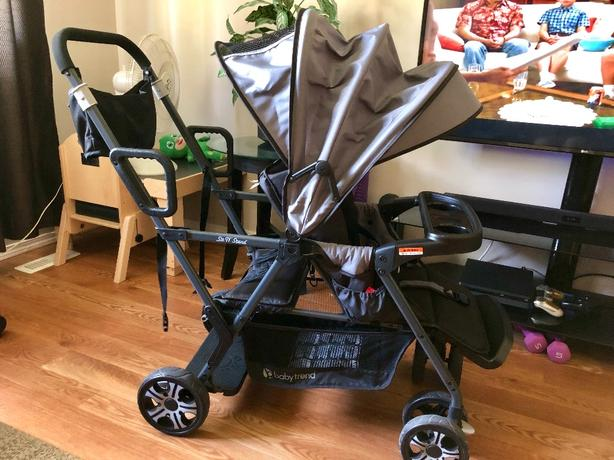 Baby Trend Sit N' Stand Sport Stroller in Dove