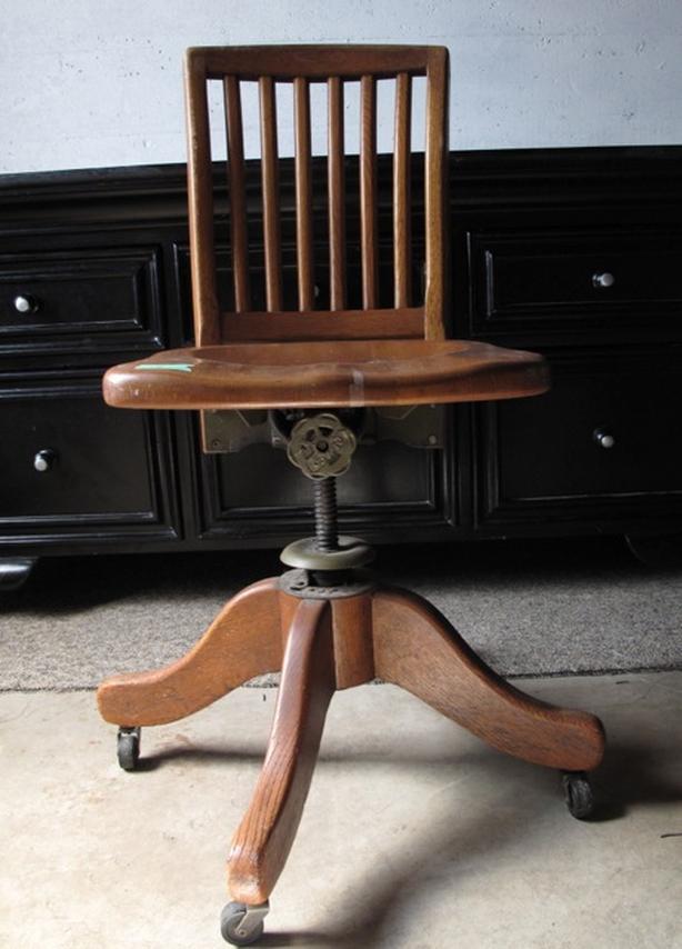 Small Antique Oak Chair