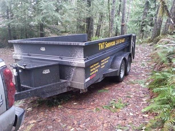 2012 custom built trailer