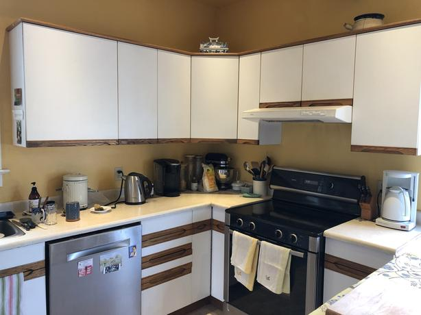 FREE: White Cabinets for Free