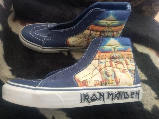 collectors edition iron maiden shoes