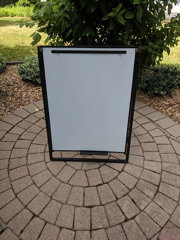 White Board Easel Adjustable Collapsible Foldable Presentations