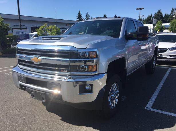 2018 CHEVY 3500 CREW CAB 4X4 FOR SALE