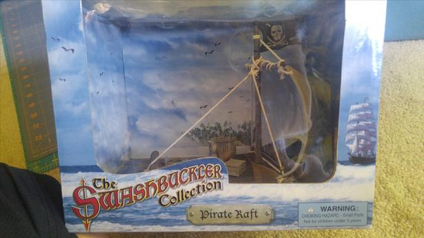 The Swashbucklers Collection Pirate Raft