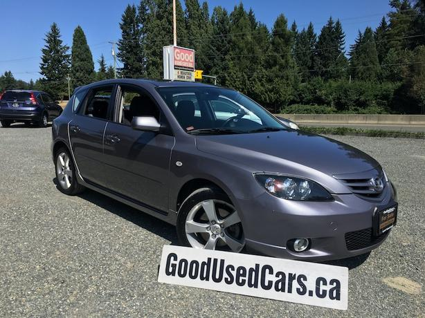 2006 Mazda 3 GT - Sunroof and Alloy Wheels with only 71,000 KM