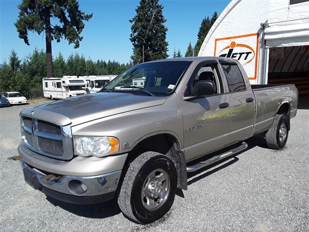 2003 Ram 2500 with Cummins Turbo Diesel Engine Selling at Auction!