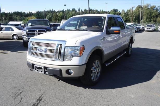 2010 Ford F-150 King Ranch SuperCrew 5.5-ft. Bed 4WD