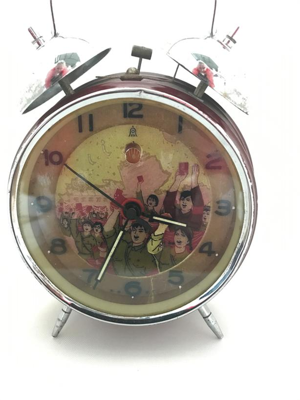 Vintage early 1960s Mao Zedong Alarm Clock
