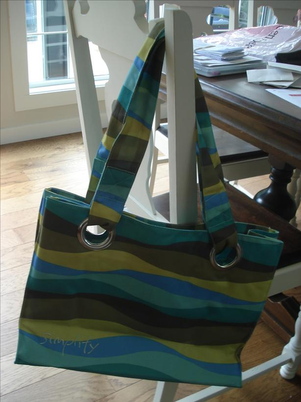 Great beach bag was bought in a specialty shop in Hawaii