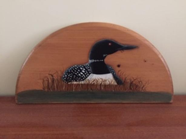 Loon inspired decor (3 items)