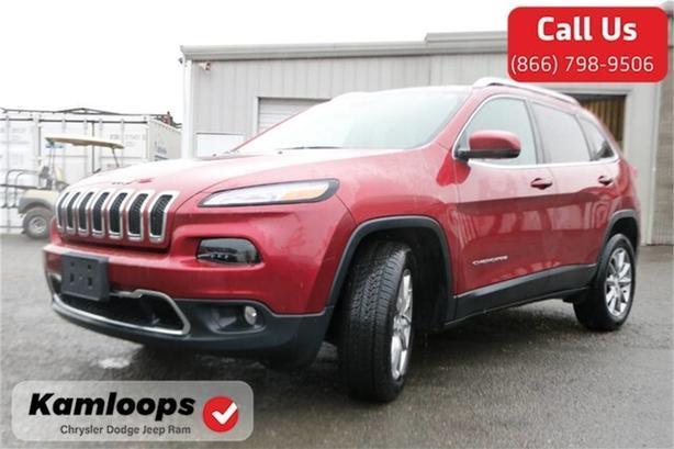2017 Jeep Cherokee Limited /4x4//Moonroof//Navi/