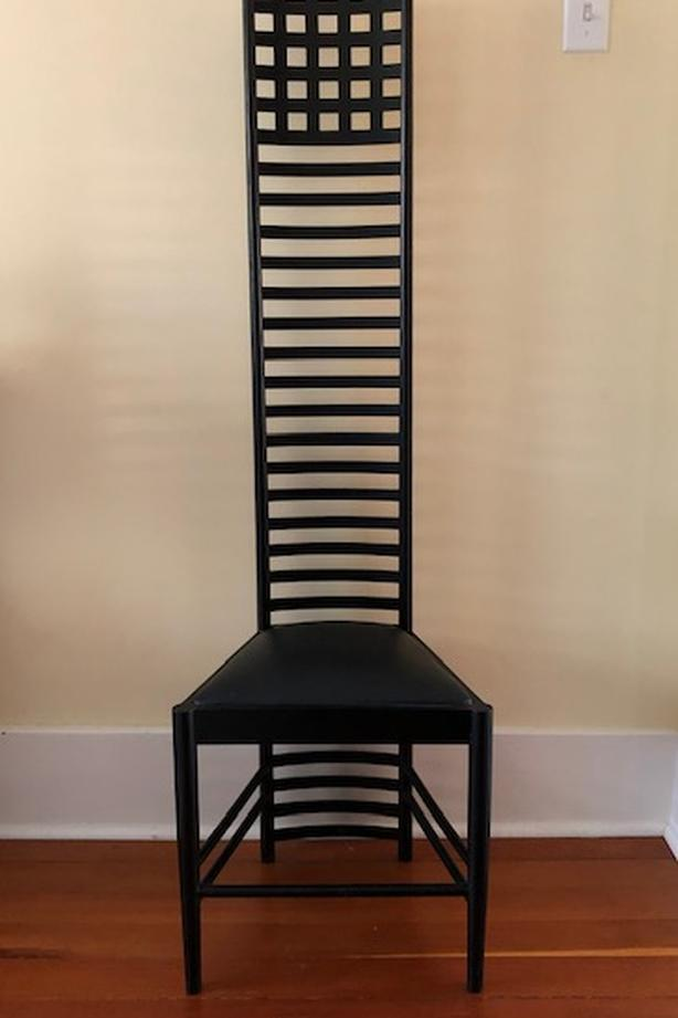 Hill House Accent Chair By Charles Rennie Macintosh