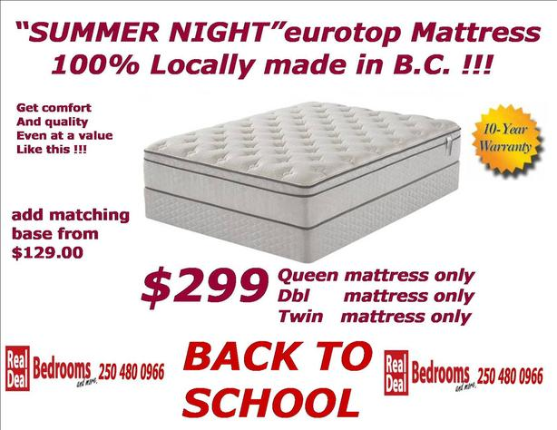 Back To School Mattress Sale Queen Size only $299