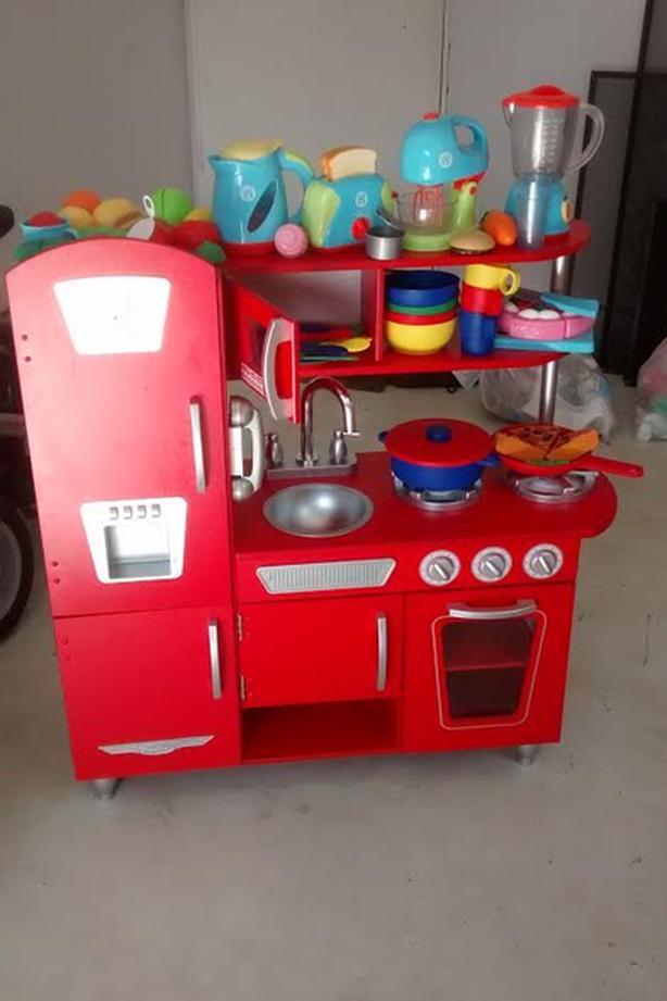 KidKraft Play Kitchen and accessories