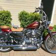 Custom 2012 Harley Davidson Sportster Seventy-Two
