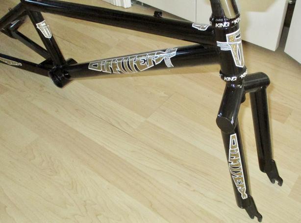 nos harry leary dirtwerx pro bmx frame fork