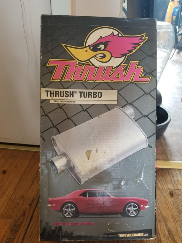 Turbo Thrush Muffler