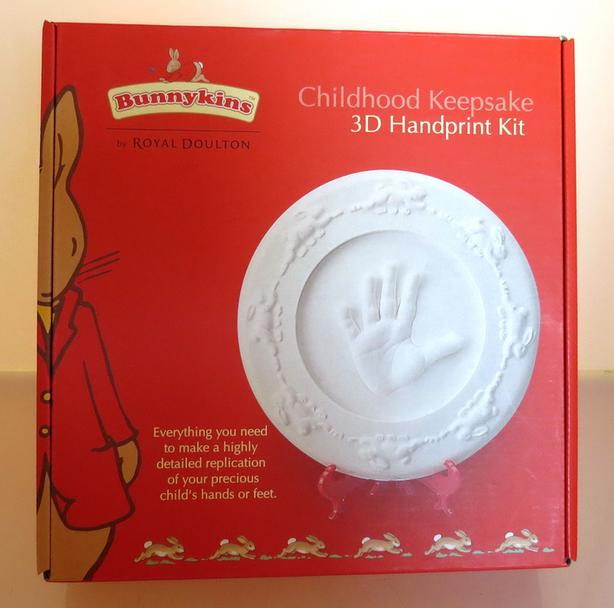 Royal Doulton Bunnykins Keepsake 3D Handprint Kit [Royal Oak]