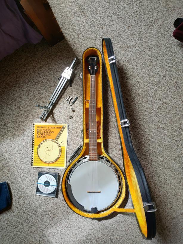 Epiphone 5-string banjo