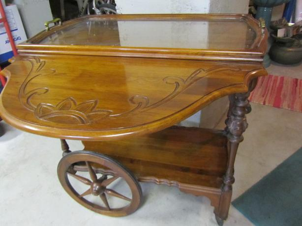 Antique Tea Wagon