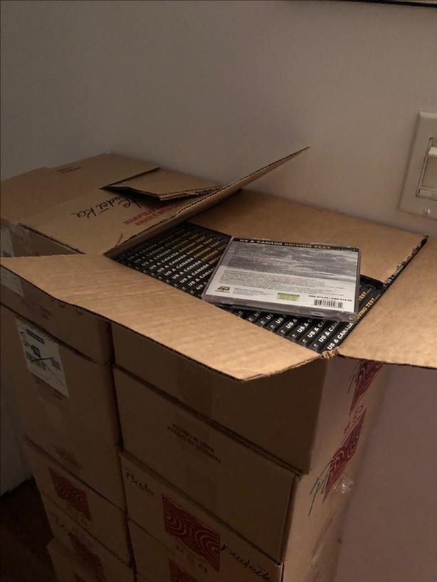 CD or DVD Jewel Cases in bulk