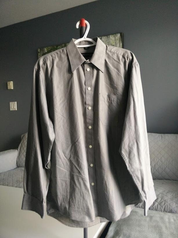 Selling Kenneth Cole Grey Dress Shirt - $10