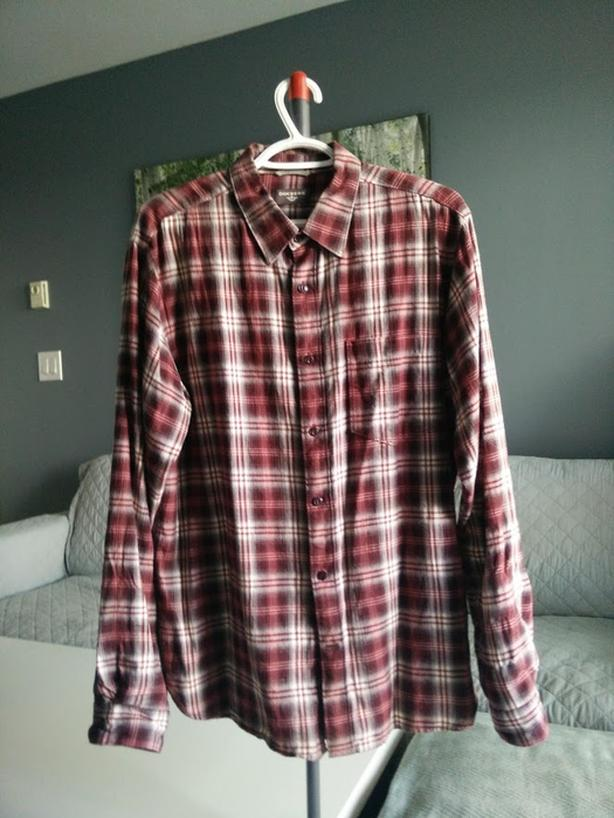 Selling Dockers Red Casual Button Shirt - $10