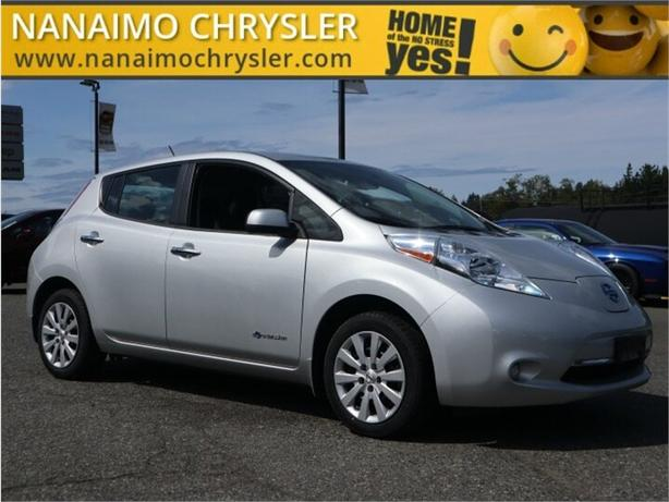 2017 Nissan Leaf S No Accidents Rear View Backup Camera