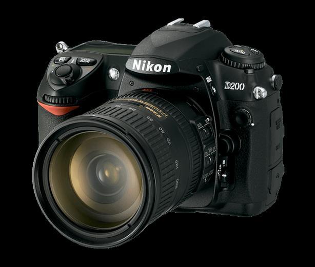 Nikon D200 Camera and lenses