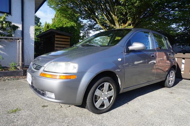 2006 Aveo Hatchback Auto