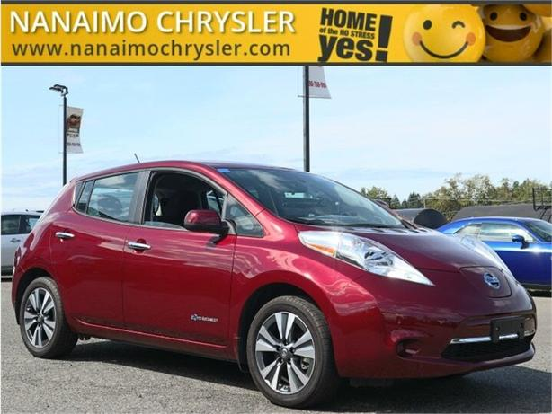 2017 Nissan Leaf SV No Accidents Rear View Backup Camera