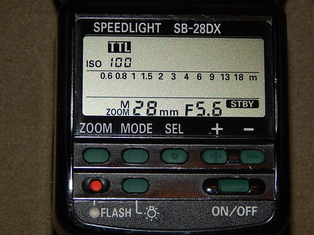 Nikon Speedlight Flash SB-28 DX