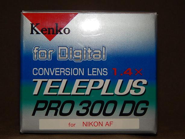 REDUCED!-Nikon Autofocus AF Kenko Japan 1.4X Tele Conversion Lens
