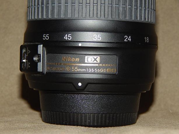 REDUCED! Nikon Nikkor Autofocus Zoom Lens 18-55mm
