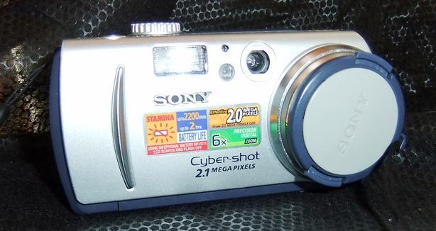 Sony DSC-P50 Cyber-shot 2MP Digital Camera