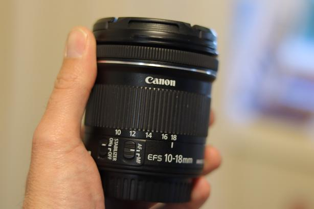 REDUCED Canon 10-18mm Lens
