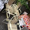 GORGEOUS 1950's WROUGHT IRON PATIO CHAIRS, EASILY RESTORED, GOOD BONES!!