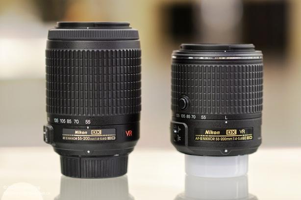 NIKON AF-S DX 55-200 f.4-5.6 VR2 latest improved Version / MINT*