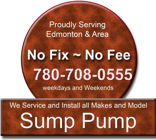 Sump Pump & Sump Alarm repair and installation