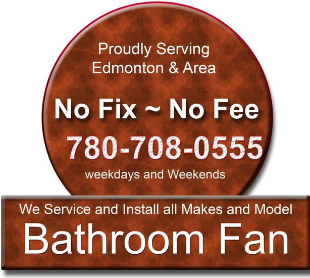 Bathroom Fan repair & installation