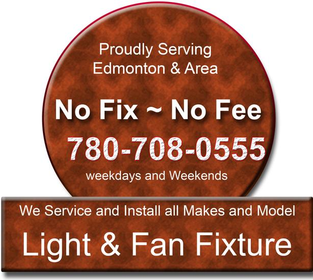 Light & Fan Fixture repair and Installation