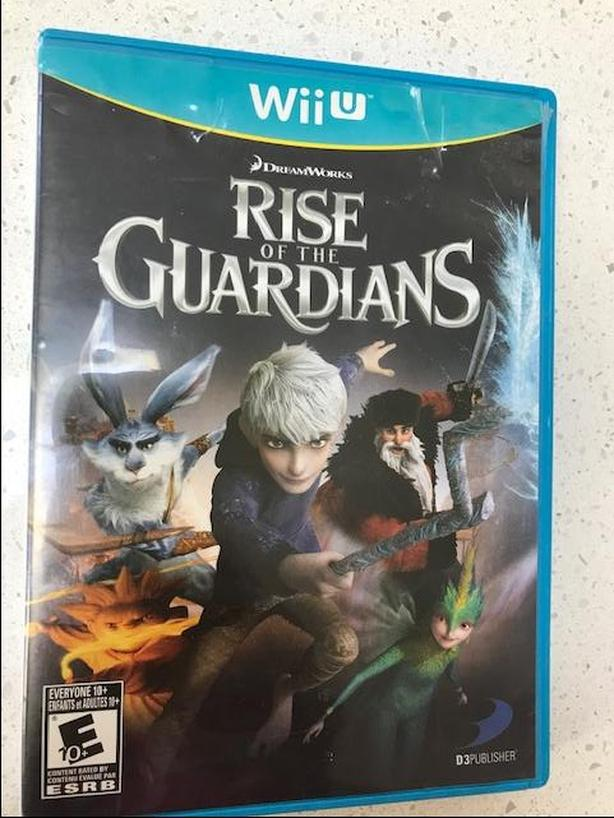 Rise of the Guardians for WiiU
