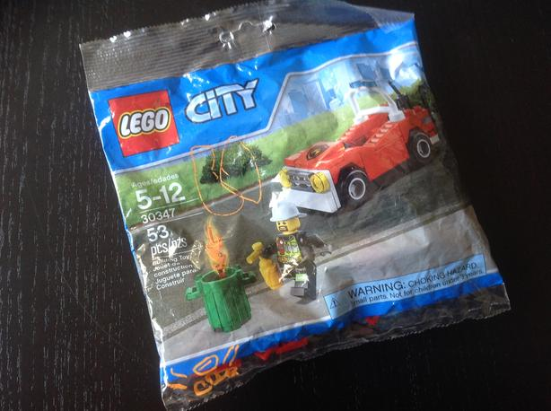 City Lego set 30347