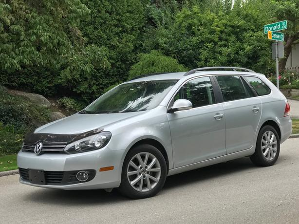 2013 VOLKSWAGEN GOLF TDI WAGON