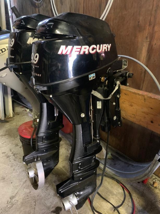 2006 Mercury 9.9 Pro Kicker
