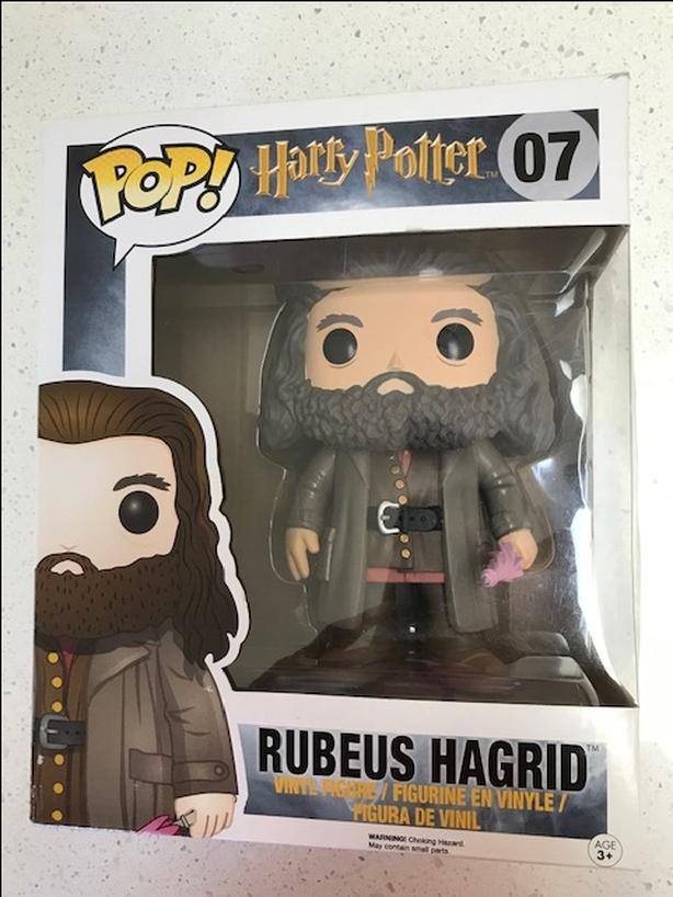 super-sized Rubeus Hagrid figurine